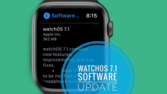 watchOS 7.1 software update