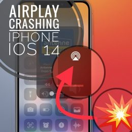 AirPlay crashing iPhone Control Center in iOS 14