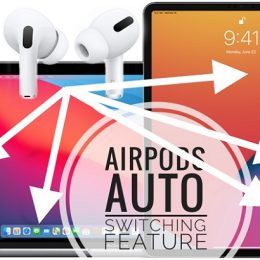 AirPods auto switching feature
