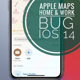 Apple Maps Home address not showing