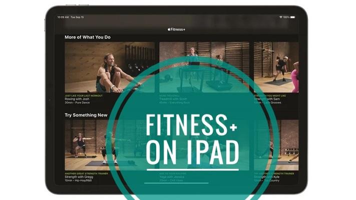 Fitness+ on iPad