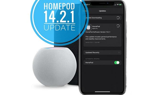 HomePod 14.2.1 update
