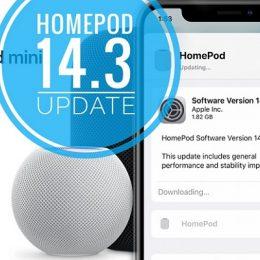 HomePod 14.3 software update