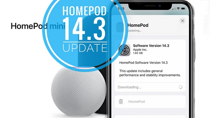 HomePod 14.3 software update