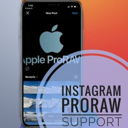 Instagram ProRaw Support