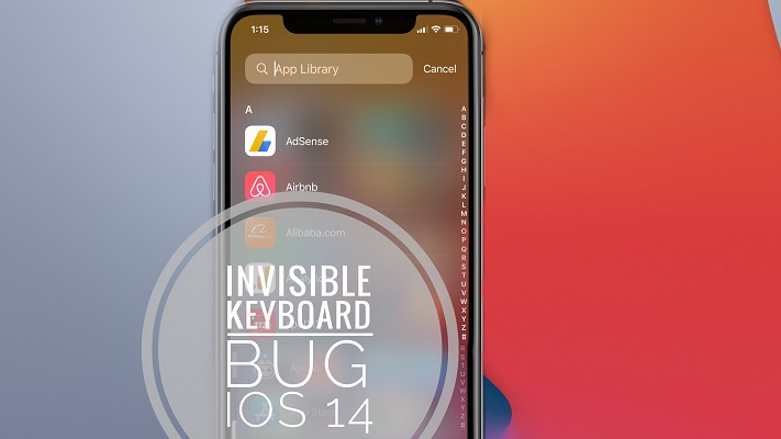 Keyboard not showing up on iPhone in iOS 14