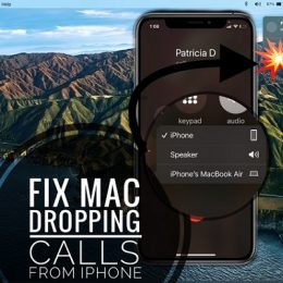 Mac dropping calls from iPhone