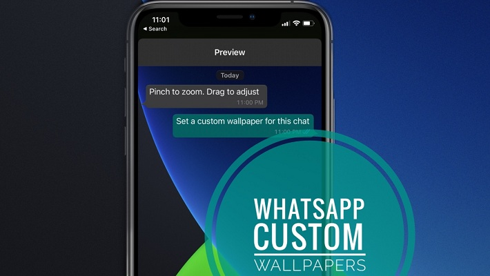 WhatsApp Custom Wallpapers for iPhone