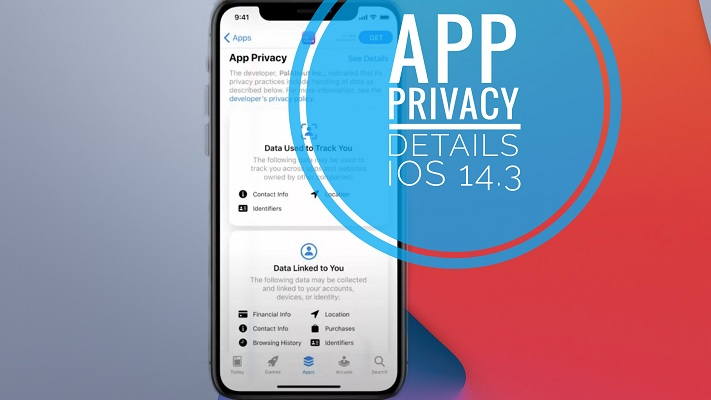 app privacy details on app store
