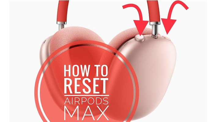 how to factory reset airpods max