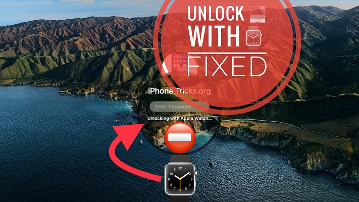 how to fix unlock Mac with Apple Watch