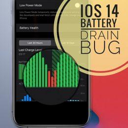 iOS 14.2 battery drain bug