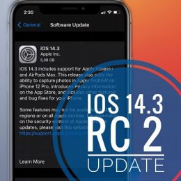 iOS 14.3 Release Candidate 2