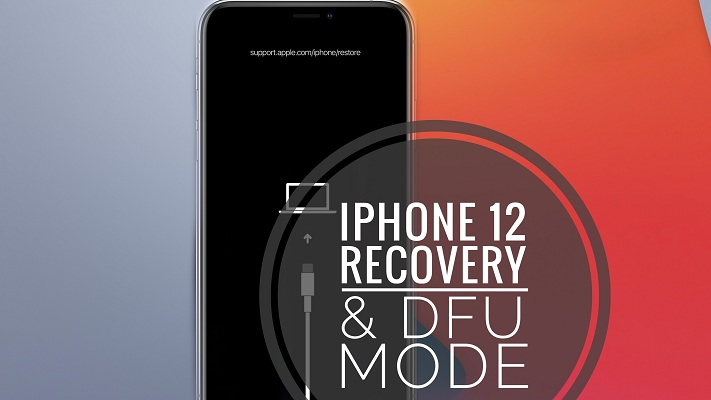 iPhone 12 Recovery Mode
