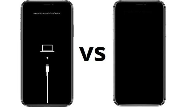 iPhone 12 Recovery vs DFU Mode