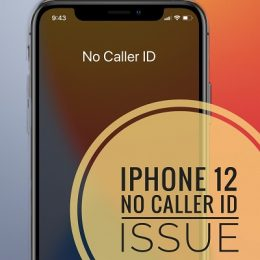 iPhone 12 caller id not showing up