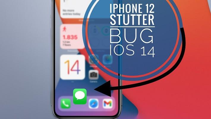 iPhone 12 stutter bug when closing apps