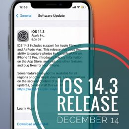 ios 14.3 release date
