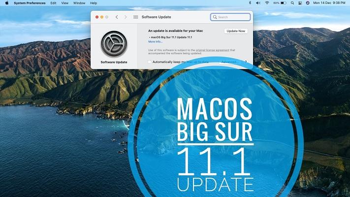 macOS Big Sur 11.1 update