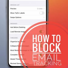 how to block email tracking in ios 14