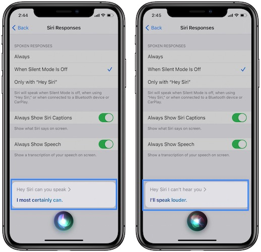 how to fix siri not speaking on iphone