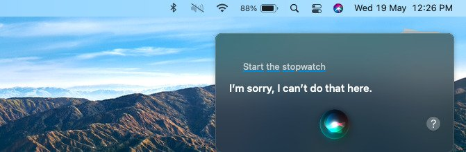 how to start stopwatch on mac