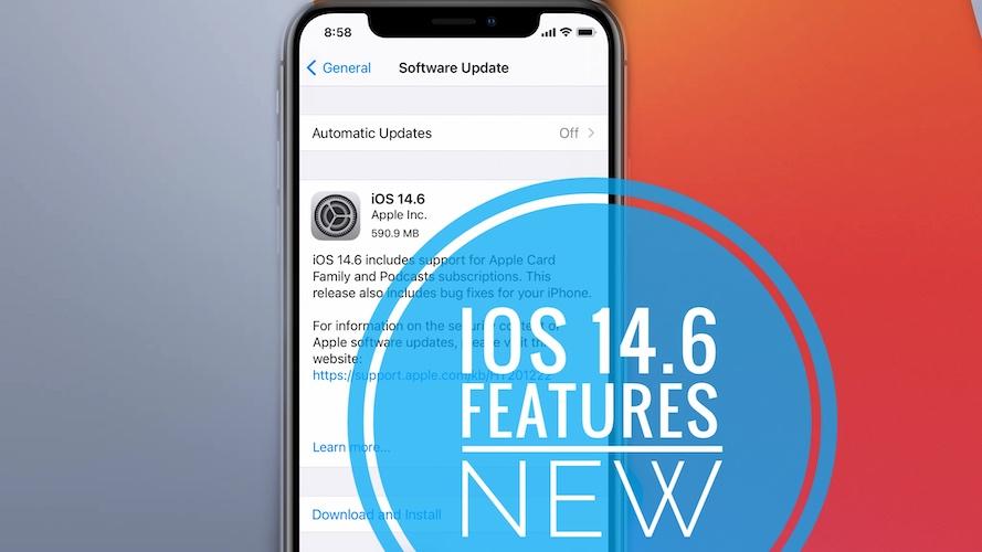 iOS 14.6 update