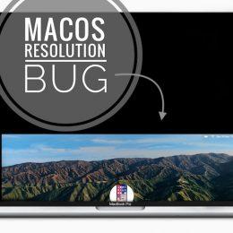 macOS Big Sur screen resolution bug