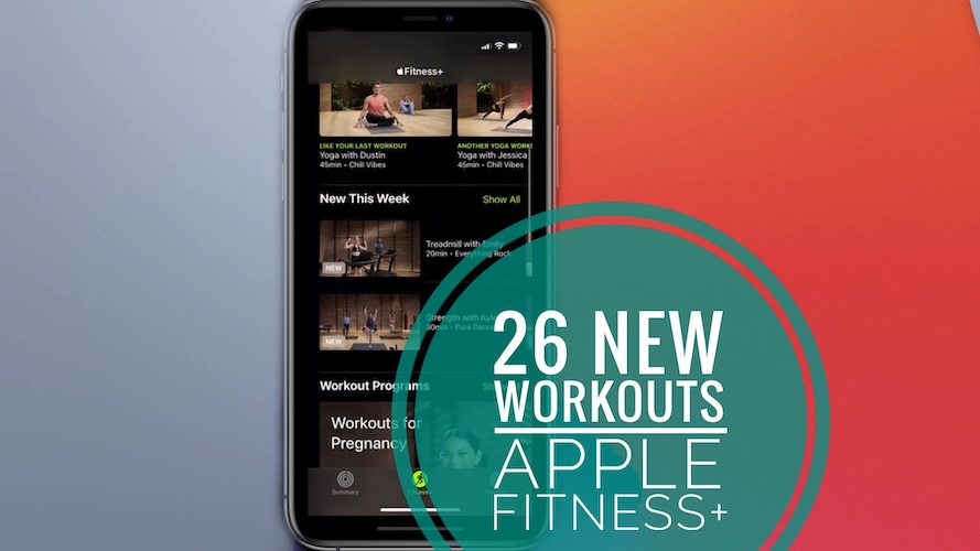 26 new Apple Fitness+ workouts