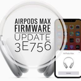 AirPods Max Firmware 3E756