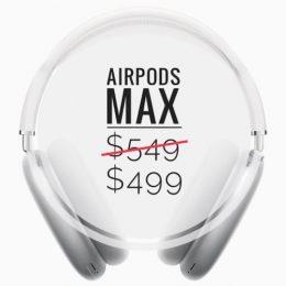 AirPods Max price drop