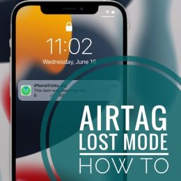 AirTag Lost Mode notification