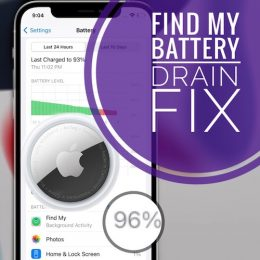 AirTag causes huge Find My Battery Drain