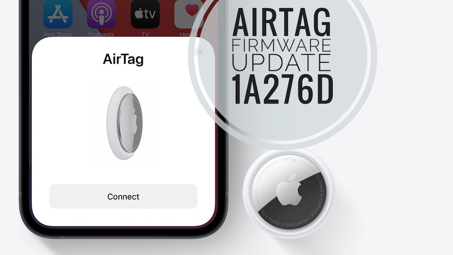 AirTag firmware update 1A276D
