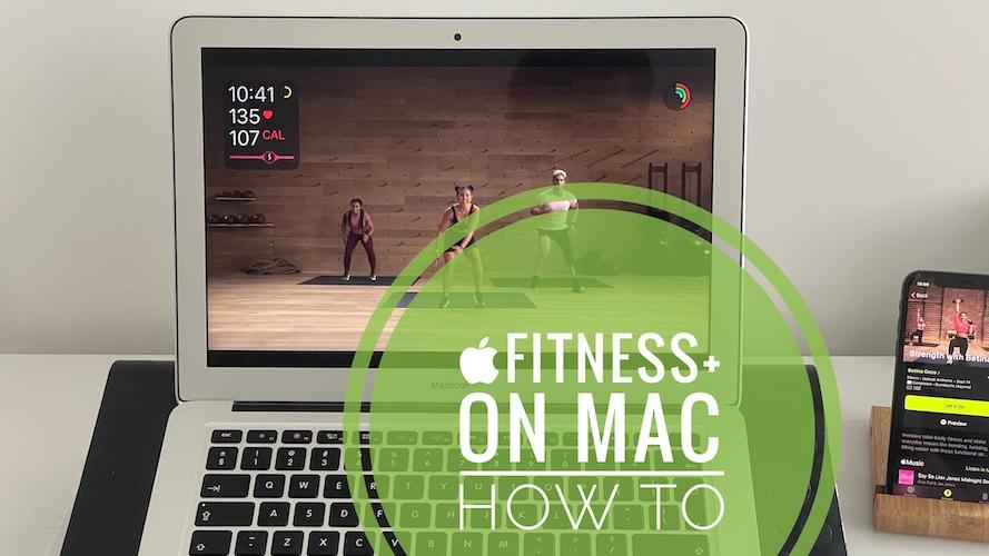 Apple Fitness+ On MacBook Air