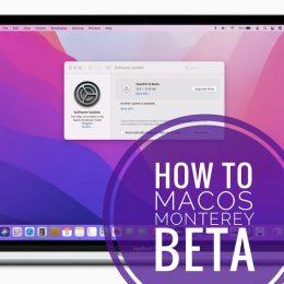 Download macOS Monterey beta