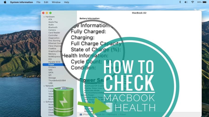 Macbook Battery Health