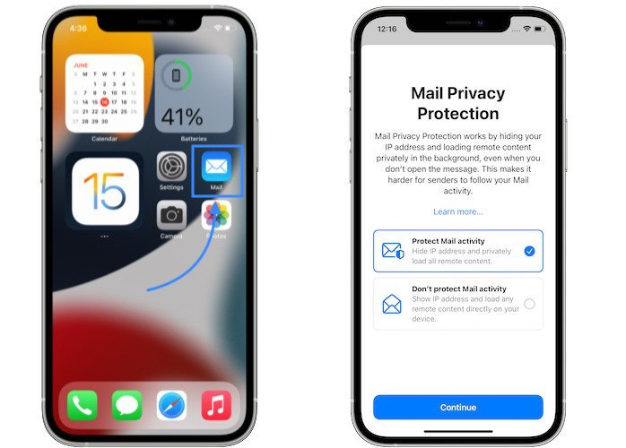 Mail Privacy Protection iOS 15