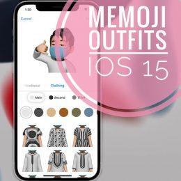 Memoji Clothes iOS 15