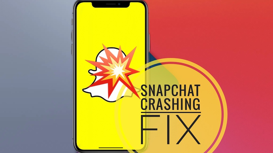Snapchat crashing after update