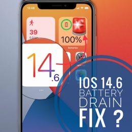 iOS 14.6 battery drain fix