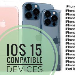 iOS 15 compatible devices