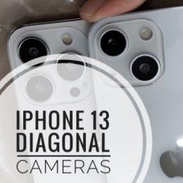 iPhone 13 Diagonal Dual-Lens camera layout