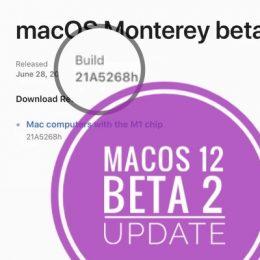 macOS Monterey Beta 2 Update