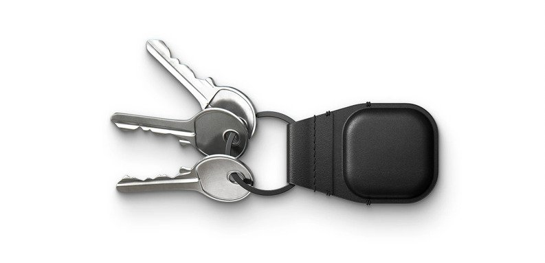 AirTag leather Keychain from Nomad