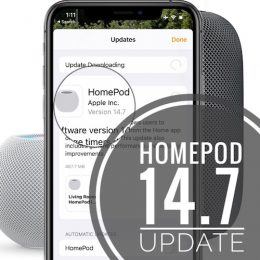 HomePod 14.7 Update