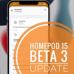 HomePod 15 Beta 3