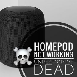HomePod Not Working