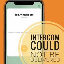 Intercom Could Not Be Delivered error