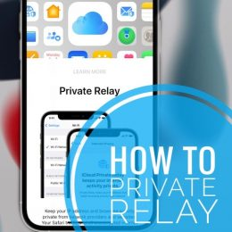 how to enable private relay on iphone